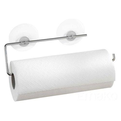 Wenko Uchwyt na papierowy ręcznik kuchenny, static-loc - stal chromowana, (4008838643105)