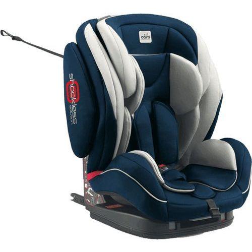fotelik samochodowy regolo isofix (9-36 kg) - niebieski, 497, marki Cam