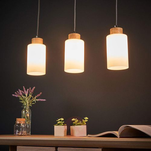 Spot-light bosco lampa wisząca dąb olejowany/antracyt 3xe27-60w 1711374 (5901602341155)