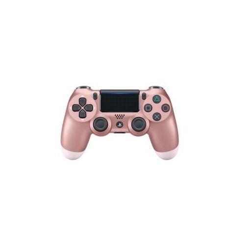 Kontroler bezprzewodowy sony playstation dualshock 4 v2 różowe złoto marki Sony interactive entertainment