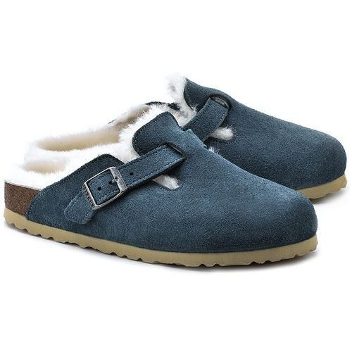 Birkenstock - Birkenstock Boston Fell - Kapcie Damskie - 259073