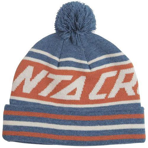 Czapka zimowa - uplands bobble denim heather (denimheather) rozmiar: os marki Santa cruz