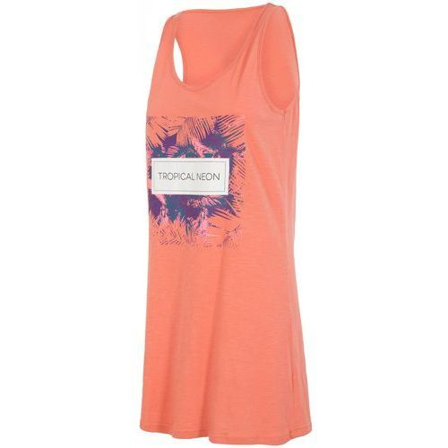 Sukienka SUDD001 - koral pastelowy