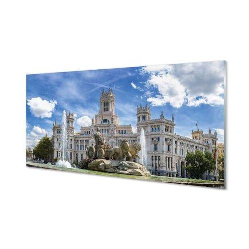 Obrazy akrylowe Hiszpania Fontanna pałac Madryt