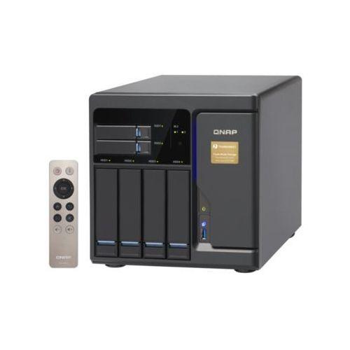 Serwer NAS QNAP TVS-682T-i3-8G, Intel® Core™ i3-6100 3.7 GHz Dual core processor, RAM 8GB DDR4 (Max. 32GB)