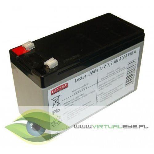 Lestar Akumulator wymienny LAWa 12V 7,2Ah AGM VRLA