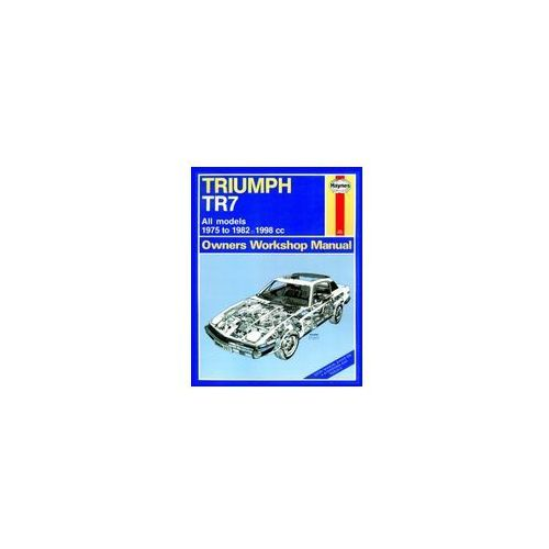 Triumph TR7 (75 - 82) up to Y Classic Reprint (9780857339263)