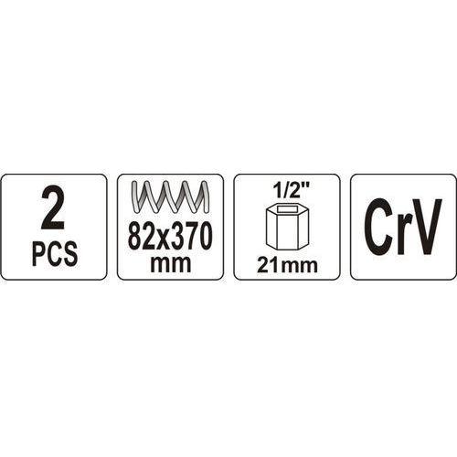 Ściągacze do sprężyn 82x370 mm Zadzwoń 602142777 lub napisz info@kupuj.info Indywidualne wyceny kody rabatowe z kategorii Pozostałe narzędzia