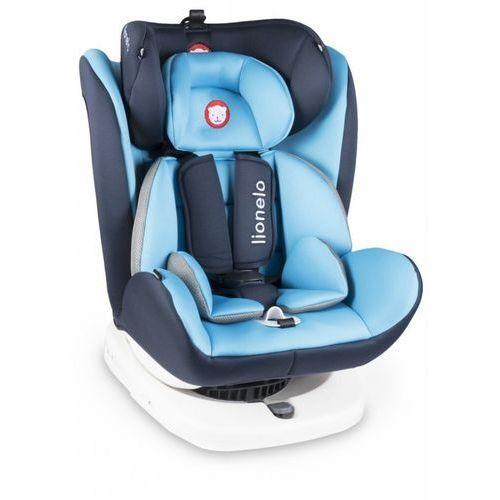 Fotelik 0-36 kg bastiaan niebieski marki Lionelo