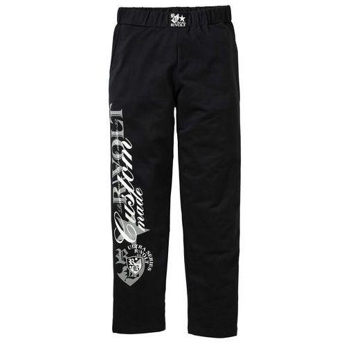 Bonprix Spodnie dresowe czarny