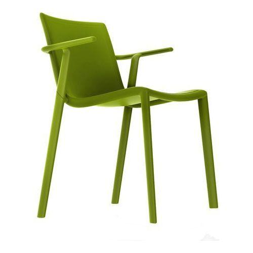 Krzesło do kawiarni i ogrodu Kat z podłokietnikami