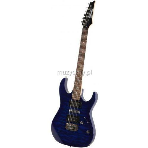 grx 70 qa tbb transparent blue burst gitara elektryczna, marki Ibanez
