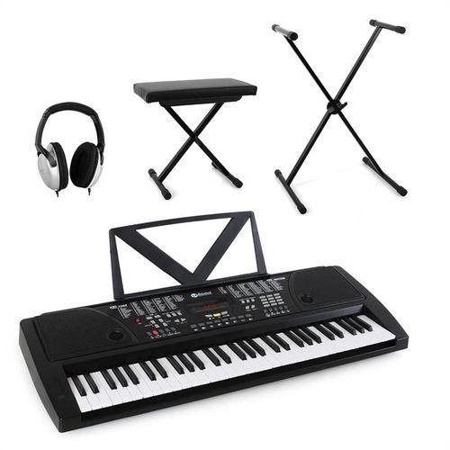 """Schubert """"Little Wagner"""" keyboard kompletny zestaw ze słuchawkami, stołek & keyboard"""