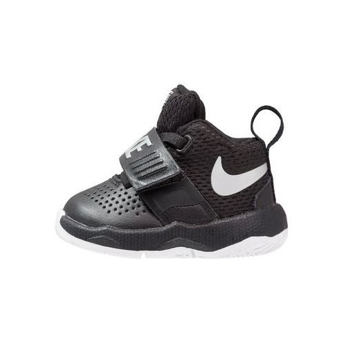 Nike Performance TEAM HUSTLE D 8 Obuwie do koszykówki black/metallic silverwhite, 881943
