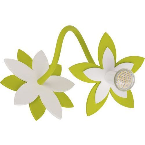 Nowodvorski Kinkiet flowers 6897 kwiatki lampa ścienna 1x35w gu10 zielony (5903139689793)