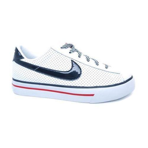 Nike Buty dla dzieci  - sweet classic (gs/ps) wht/obs/red (105-1657) rozmiar: 37.5