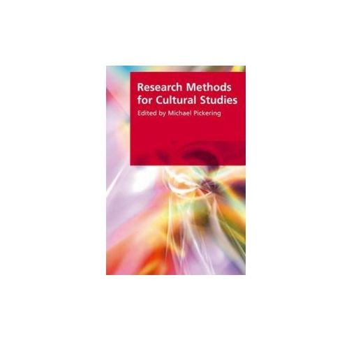 Research Methods for Cultural Studies