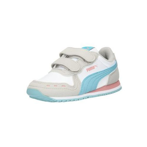 PUMA Trampki 'Cabana Racer SL V PS/V I' niebieski neon / szary / różowy pudrowy / biały, kolor niebieski