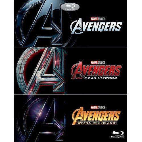 Avengers trylogia (3bd) (płyta bluray) marki Joss whedon, anthony russo, joe russo