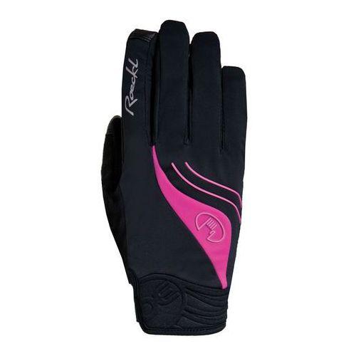 wigan rękawiczka rowerowa kobiety różowy/czarny 8,5 2017 rękawiczki zimowe marki Roeckl