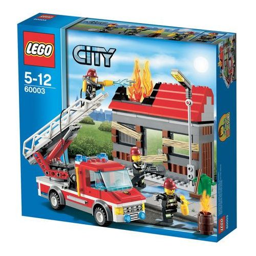 Lego CITY Alarm pożarowy 60003 - BEZPŁATNY ODBIÓR: WROCŁAW!