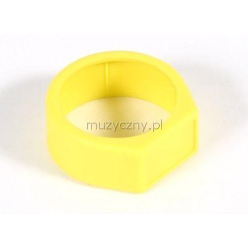 xcr 4 pierścień na złącze nc**x* (żółty) marki Neutrik