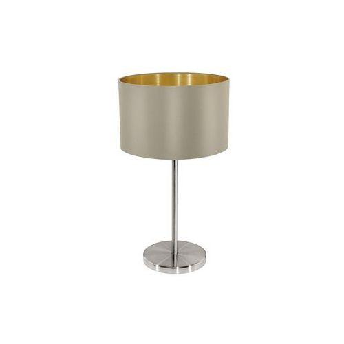 Eglo 31629 - Lampa stołowa MASERLO 1xE27/60W/230V, 31629