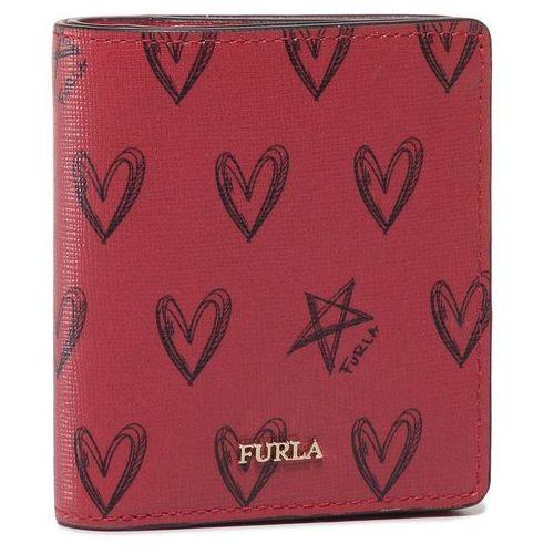 Furla Mały portfel damski - san valentino 20 1046915 p pct5 v41 toni ruby