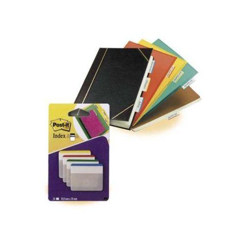 Post-it zakładki indeksujące silne do archiwizacji 686-f1, płaskie, 50,8 x 38, 4-kolory marki 3m