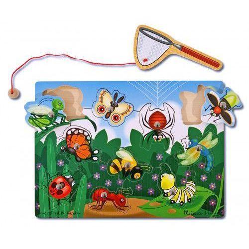 Układanka magnetyczna chwyć robaczka - marki Melissa & doug