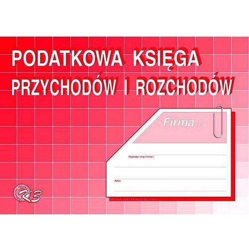 Michalczyk i prokop Podatkowa księga przychodów i rozchodów, a5 k3u