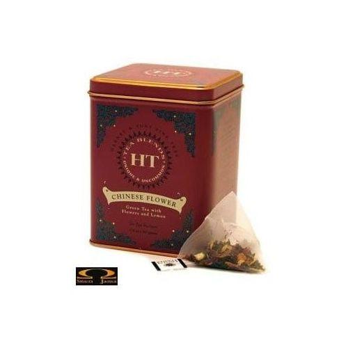 Herbata Harney & Sons Chinese Flower, herbata zielona aromatyzowana, puszka piramidki 20 szt.
