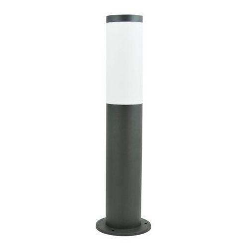 Polux Zewnętrzna lampa stojąca oslo 300959 nowoczesna oprawa ogrodowa minimalistyczny słupek ip44 outdoor szary
