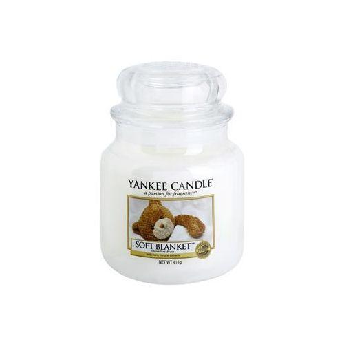 Yankee Candle Soft Blanket świeczka zapachowa 411 g średnia + do każdego zamówienia upominek.