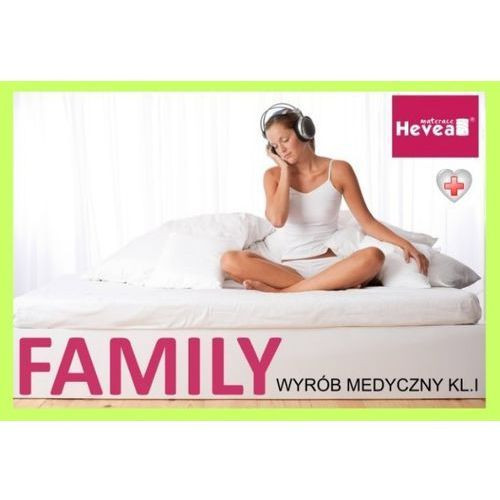 Hevea Materac lateksowy family medicare plus 160x200