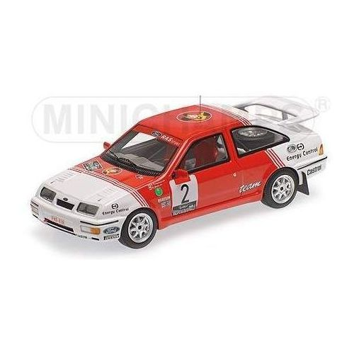 Minichamps Ford sierra rs cosworth #2 drogmanns/joosten winner lotto haspengouw rally 1987 (4012138133075)