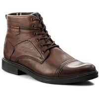 Kozaki WOJAS - 4297-52 Brązowy, kolor brązowy