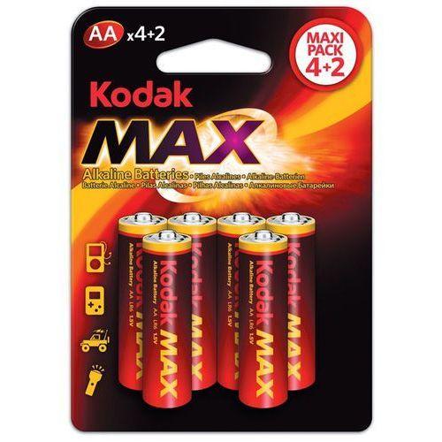 Baterie aa lr6 max kaa-4+2 (6 szt.) marki Kodak