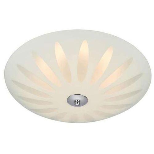 Markslojd Plafon lampa sufitowa petal 107165 szklana oprawa natynkowa led 12w okrągła biała