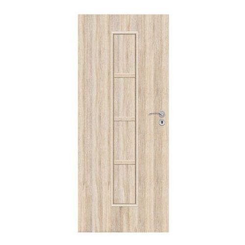 Drzwi pełne Olga 80 lewe dąb sonoma (5902398934781)