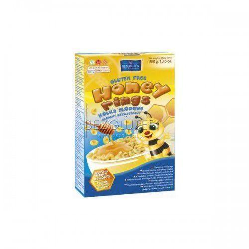 Kółka Miodowe Honey Rings bezglutenowe 300g Bezgluten (5906720573839)