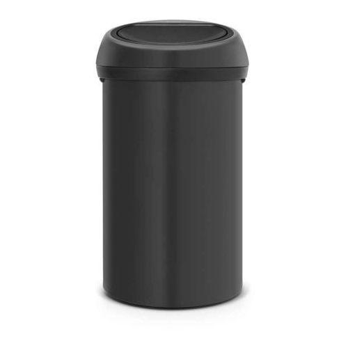 Brabantia - kosz 'touch bin' - pokrywa stalowa - 60l - ciemnoszary - ciemnoszary (8710755111709)
