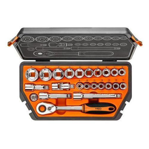 Zestaw kluczy nasadowych NEO 1/2 08-616 (23 elementy) + DARMOWY TRANSPORT!, 08-616