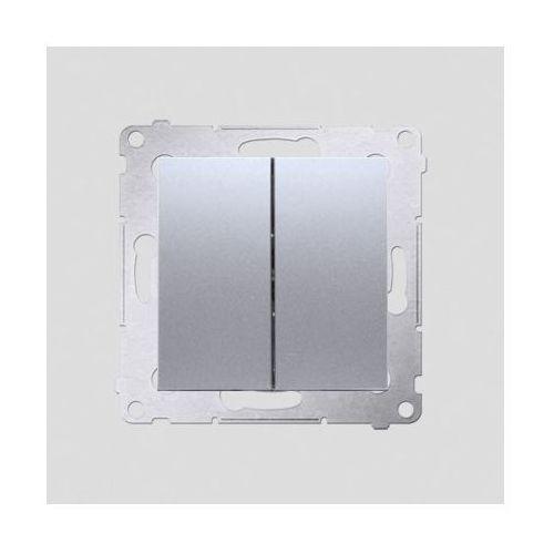 Kontakt-simon Simon 54 łącznik świecznikowy srebrny mat dw5.01/43