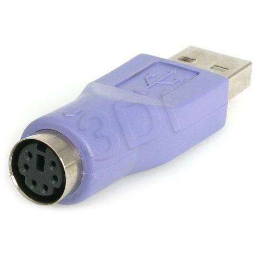 Adapter USB Akyga USB - PS/2 Zielony (AK-AD-14)