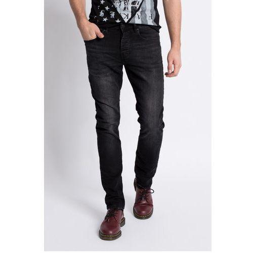 Review  - jeansy simon slim black new
