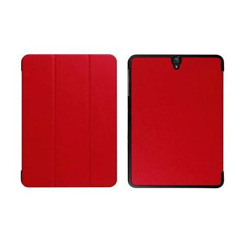 Etui book cover Samsung Galaxy Tab S3 9.7 T820 T825 czerwone - Czerwony