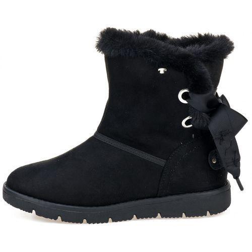 Tom tailor buty zimowe damskie 38 czarny