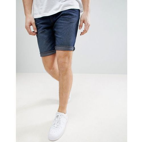 Tom Tailor Denim Shorts In Dark Wash Blue - Blue