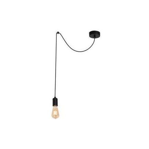 Luminex Spindel 3952 lampa wisząca zwis 1x60W E27 czarny